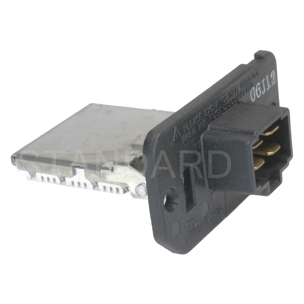 Standard ru 473 intermotor hvac blower motor resistor for Hvac blower motor resistor