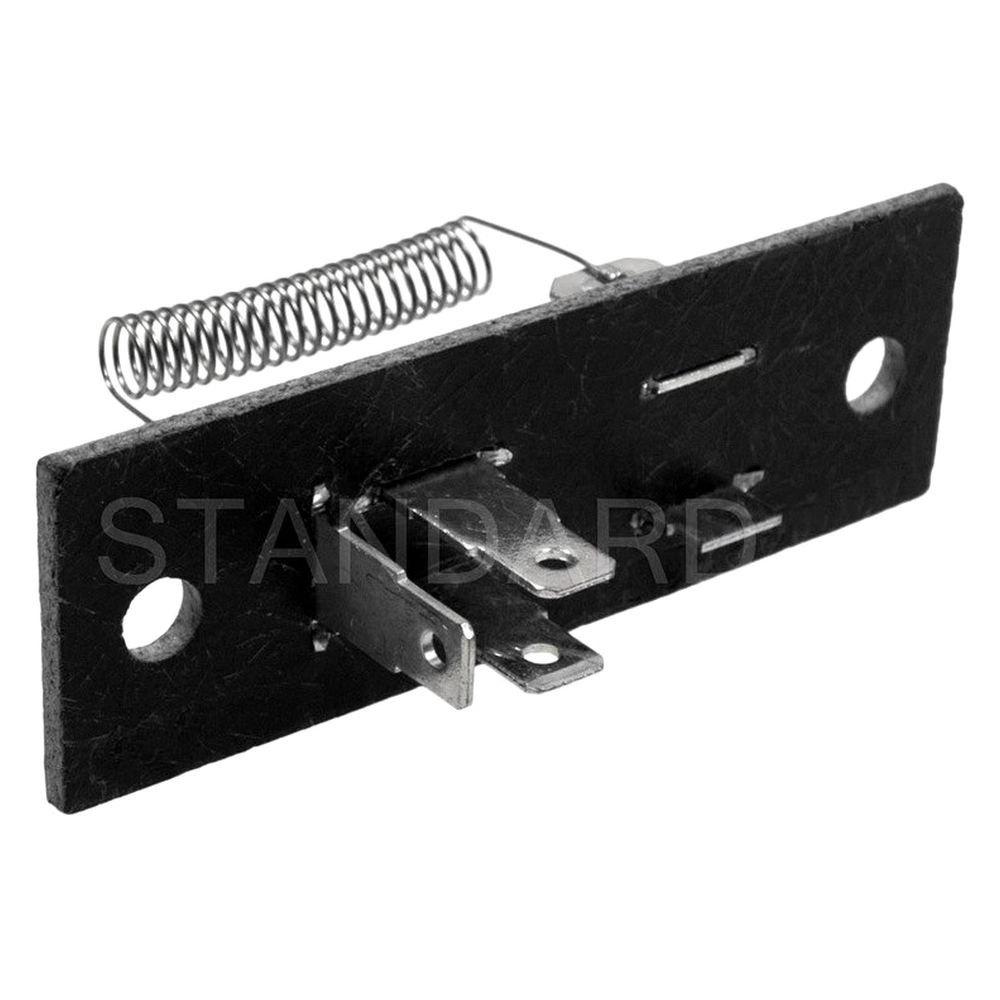 Standard ru 527 hvac blower motor resistor for Hvac blower motor resistor