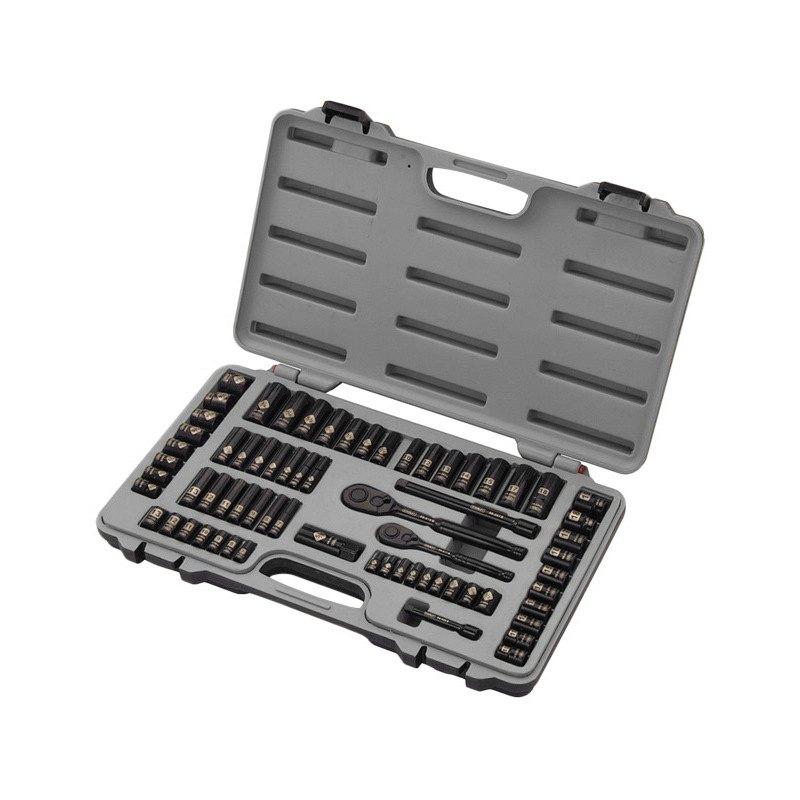stanley tools 92 824hb 69 pcs black chrome mechanics tool set. Black Bedroom Furniture Sets. Home Design Ideas