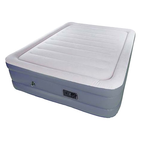 Stansport 174 383 Double High Air Bed With Built In Pump