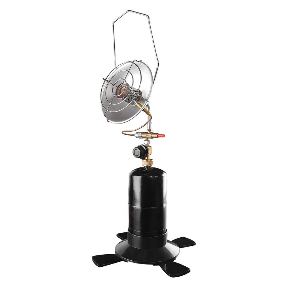 Stansportr 195 portable outdoor infrared propane heater for Infrared patio heater vs propane