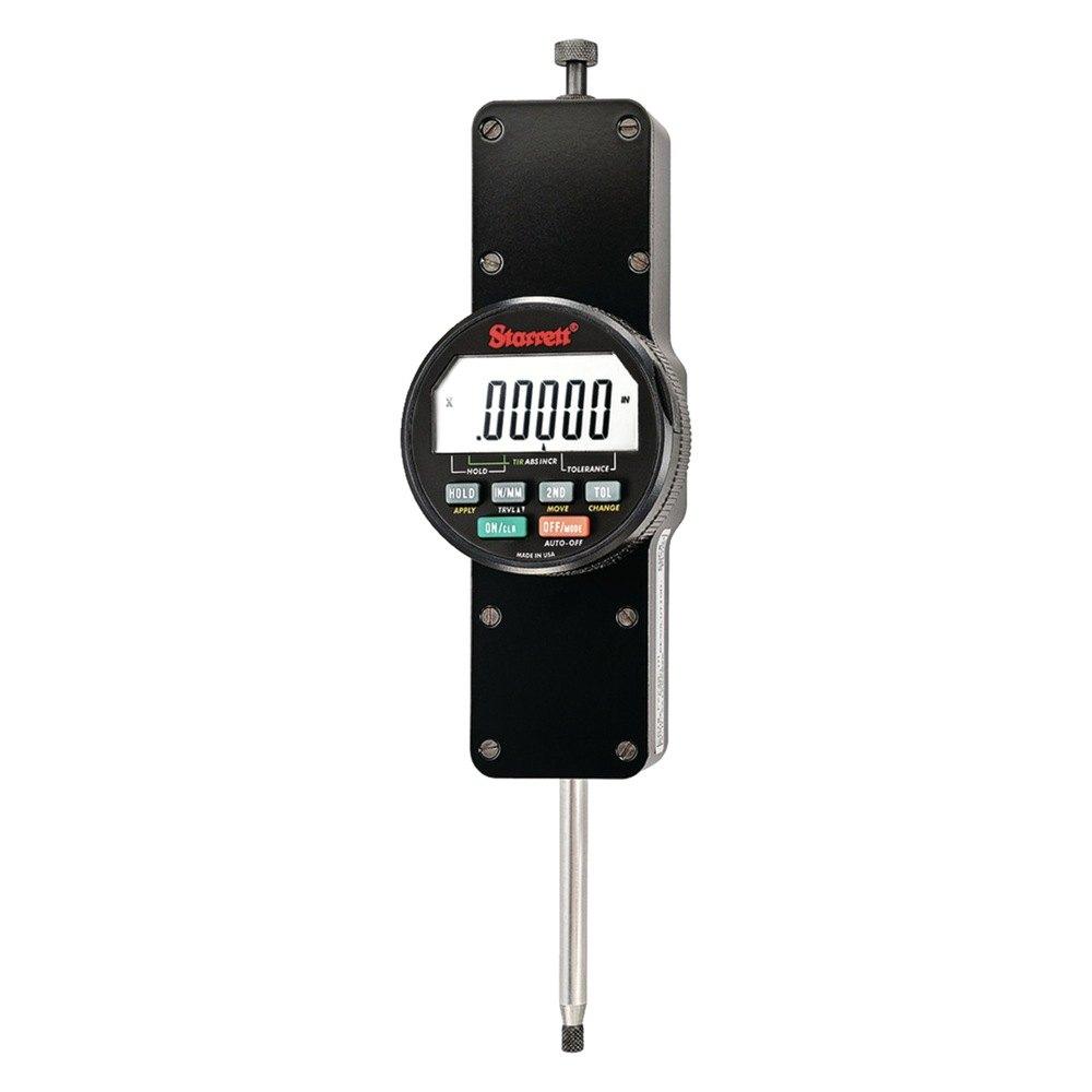 Starrett Electronic Indicator : Starrett f iq indicator electronic range quot