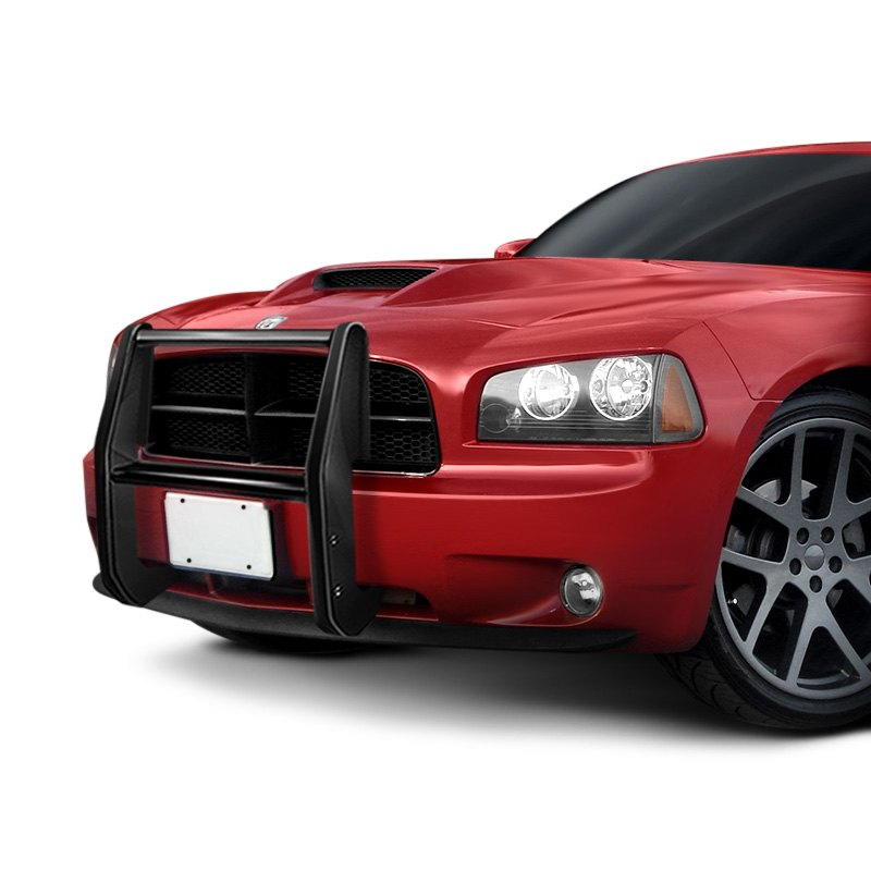 For Dodge Charger 2006-2010 SteelCraft Black Police Push