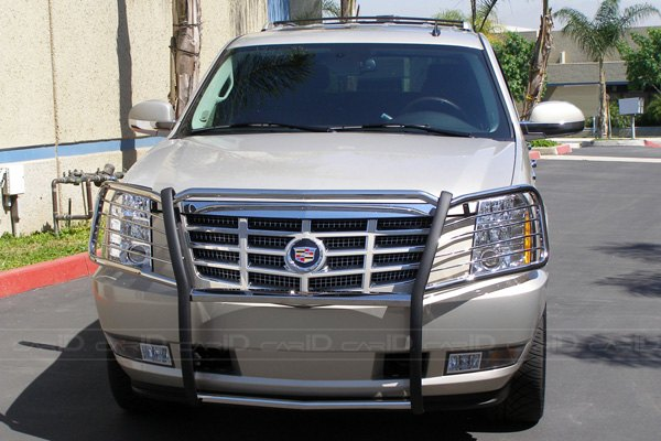 Cadillac Escalade with Grill Guard
