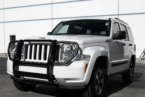Steelcraft 52170 jeep liberty 2012 black grille guard for Jeep liberty interior accessories