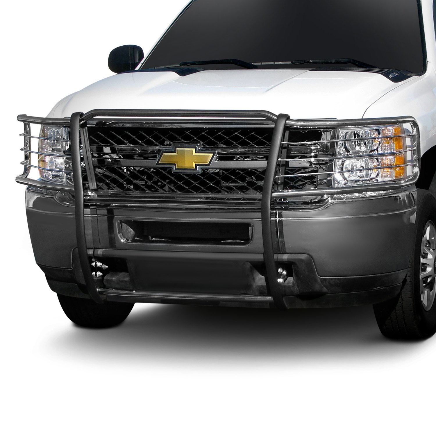 Chevy Brush Guard : Steelcraft chevy silverado grille guard