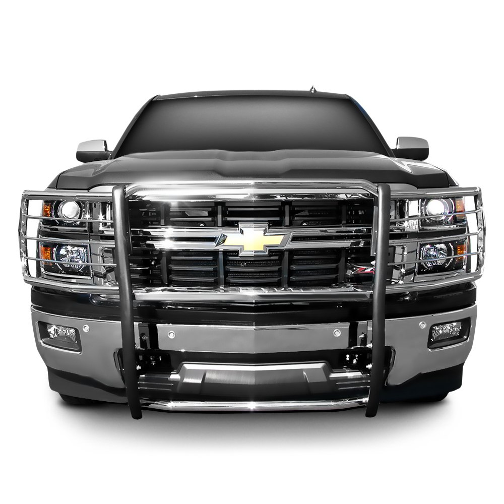 Grill Guards For Chevy Trucks : Steelcraft chevy silverado grille guard