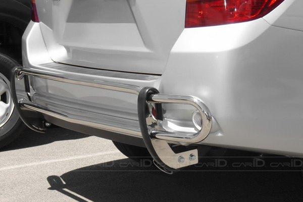 Car Bumper Guard >> Steelcraft Double Tube Rear Bumper Guard