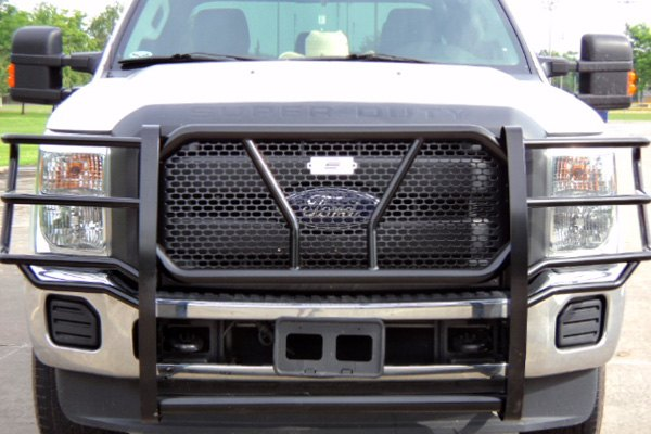 Ford Grill Guard For 85 : Steelcraft ford f hd series black grille