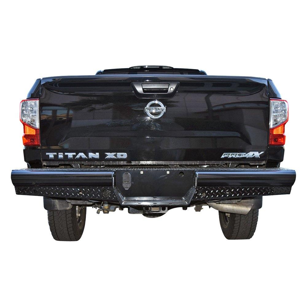 2019 Nissan Titan: For Nissan Titan XD 2016-2019 SteelCraft Full Width Black