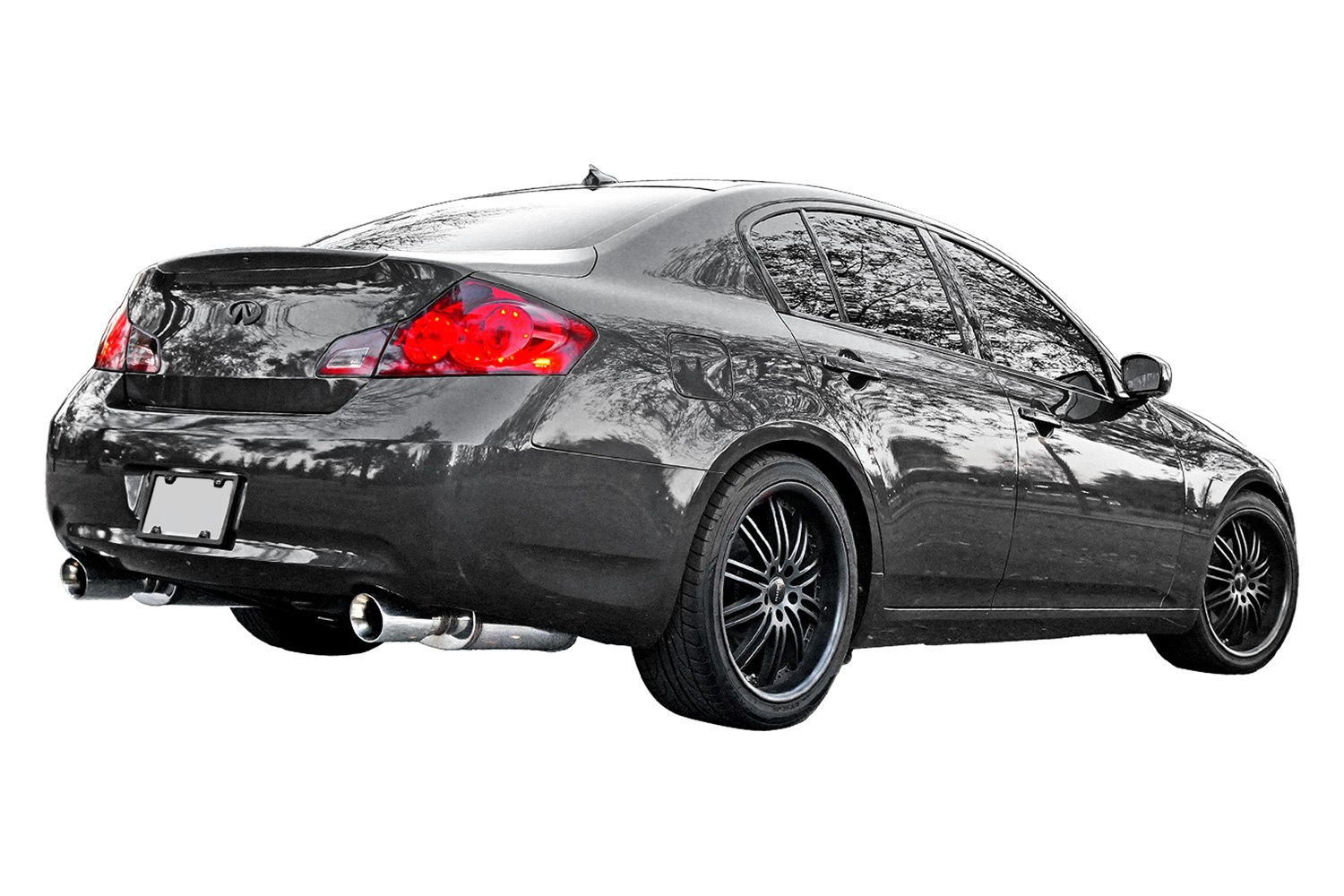 Stillen® - Stainless Steel Cat-Back Exhaust System with Split Rear Exit