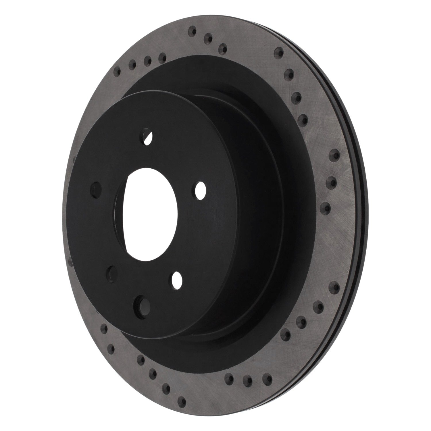 StopTech 128.42080L Front Left Sport Cross Drilled Brake Rotor