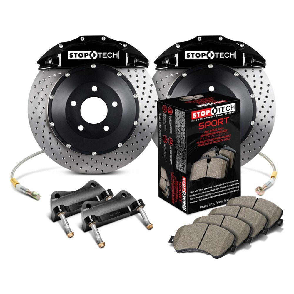 Stoptech 174 Ford F 150 2006 2008 Performance Drilled Front