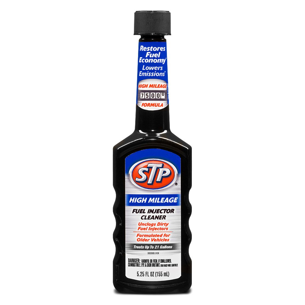 STP® 78599 - High Mileage Fuel Injector Cleaner 5.25 oz