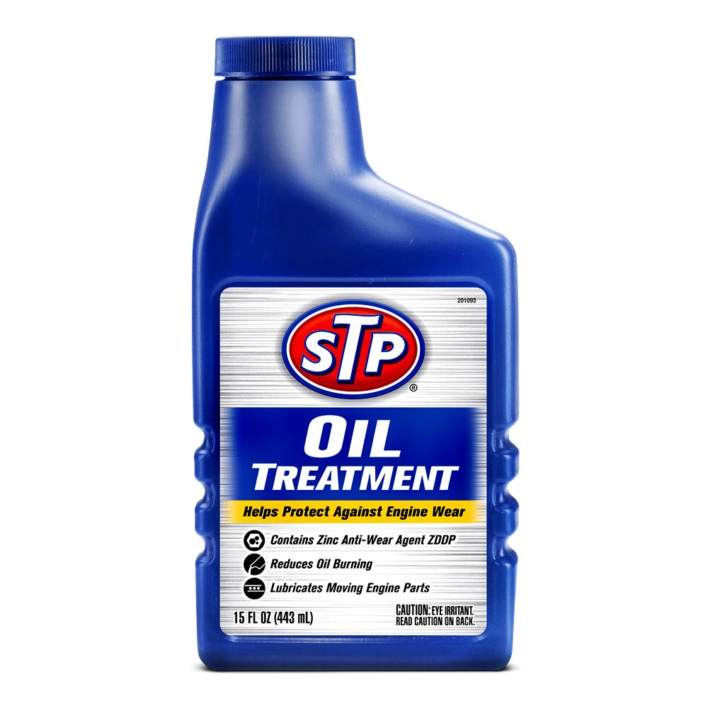 Stp 65148 oil treatment 15 oz for Which motor oil is thicker