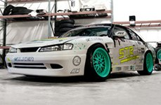 STR-RACING® - STR601 Custom Painted on Nissan 240SX