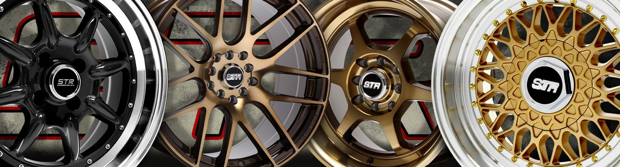 Universal STR-Racing WHEELS & RIMS