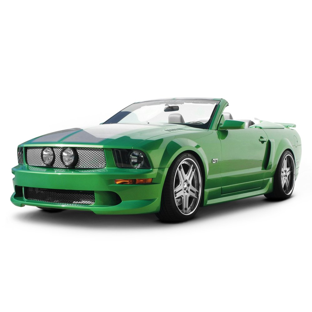 street scene ford mustang 2005 2009 gen 2 style body kit. Black Bedroom Furniture Sets. Home Design Ideas