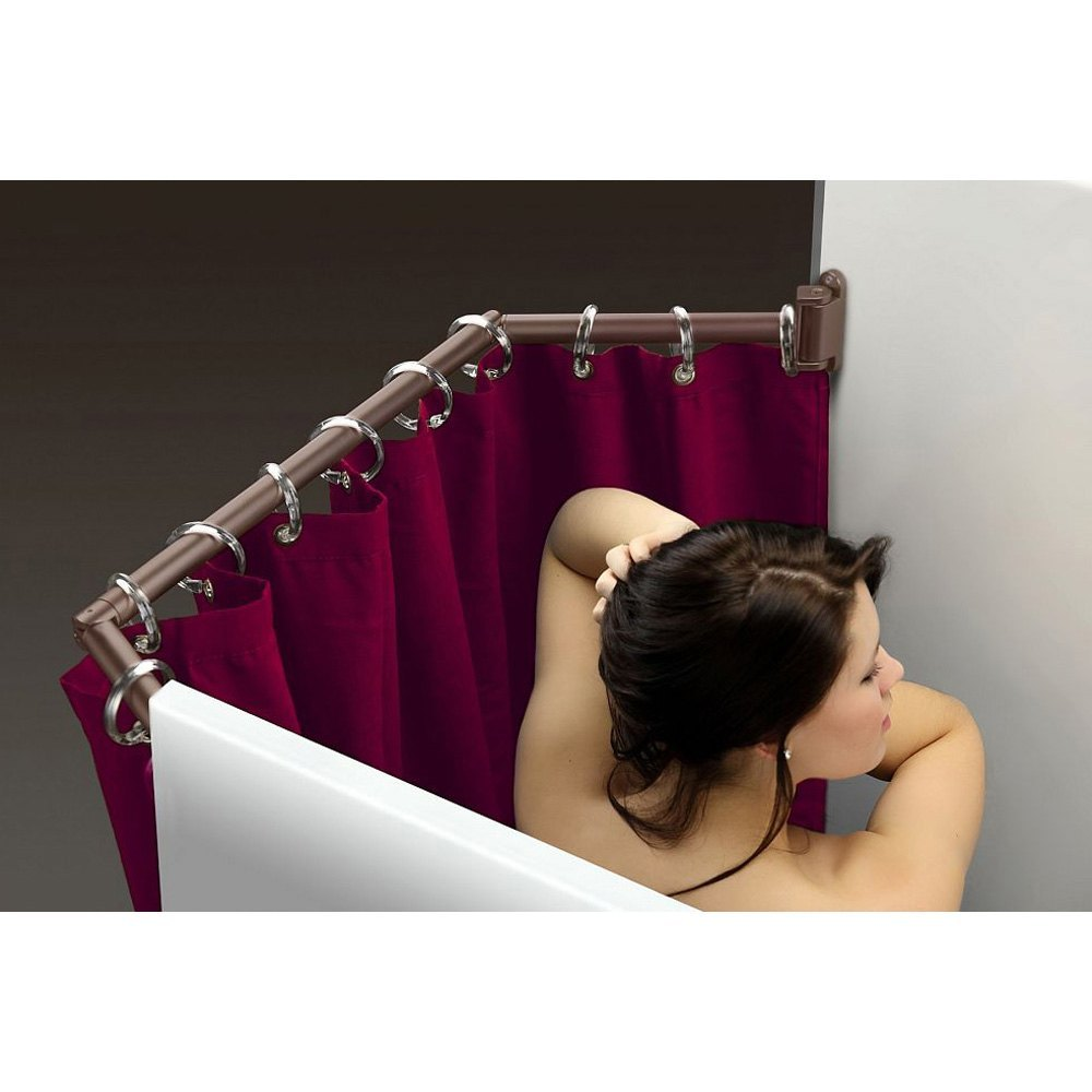 Stromberg Carlson® EXT-3542-ORB - Bronze Extend-A-Shower Curtain Rod