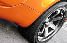 SUMITOMO® - HTR Z III Tires on Nissan 350Z