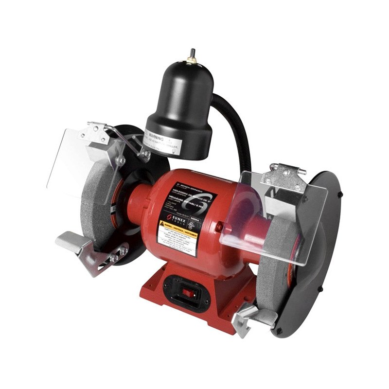 Sunex 174 5001a 6 Quot Bench Grinder With Light