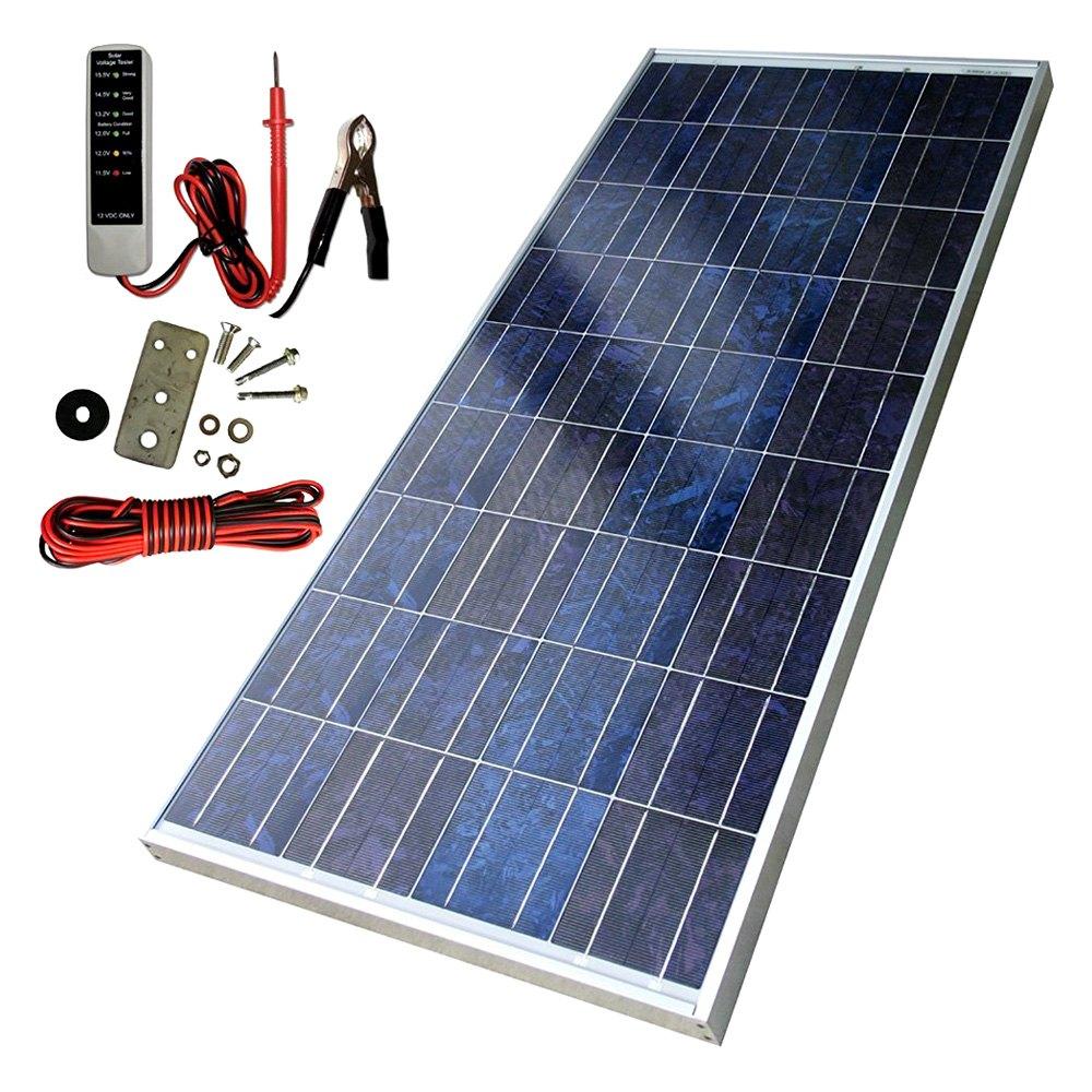 sunforce polycrystalline solar panel with sharp module. Black Bedroom Furniture Sets. Home Design Ideas