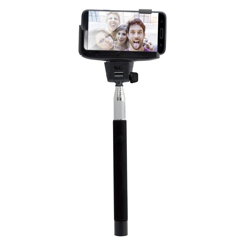 supersonic sc1600sbt selfie stick with bluetooth shutter button. Black Bedroom Furniture Sets. Home Design Ideas