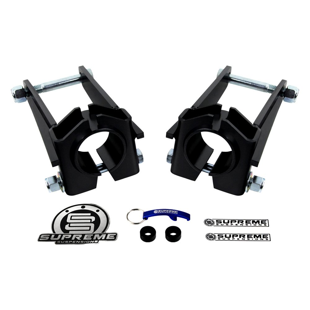 supreme suspensions jeep grand cherokee 2008 pro series front lift kit fork clevis set. Black Bedroom Furniture Sets. Home Design Ideas