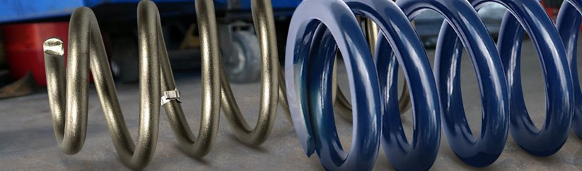 Suspension Spring Specialist Blue Coil Springs