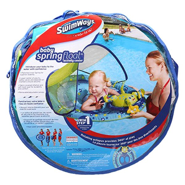 ... CanopySwimWays® - Baby Spring Float Activity Center with Canopy ...  sc 1 st  CARiD.com & SwimWays® 11601 - Baby Spring Float Activity Center with Canopy