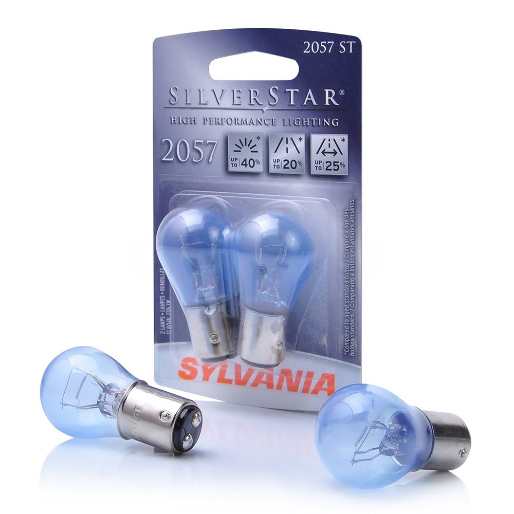 Sylvania 37657 silverstar halogen bulbs 2057 Sylvania bulb