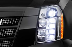 Sylvania® - Replacement Headlight Bulbs on Cadillac Escalade