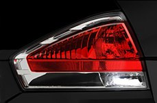 Sylvania® - Replacement Tail Light Bulbs on Ford Focus