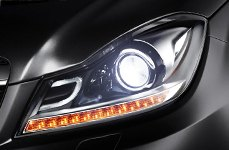 Sylvania® - Replacement Headlight Bulbs on Mercedes C-Cass