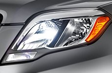 Sylvania® - Replacement Headlight Bulbs on Mercedes GLK-Cass