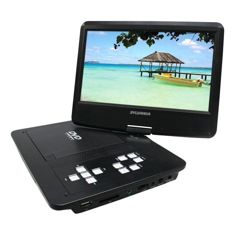 Sylvania 174 Sdvd1030 10 Quot Swivel Screen Portable Dvd Player