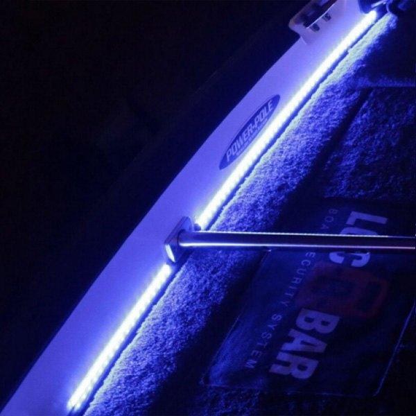 t h marine led 51954 dp 48 blue led flex strip lights. Black Bedroom Furniture Sets. Home Design Ideas