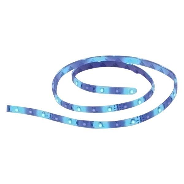 Rope Lights For Boats: 14' Blue LED Flat Rope Light