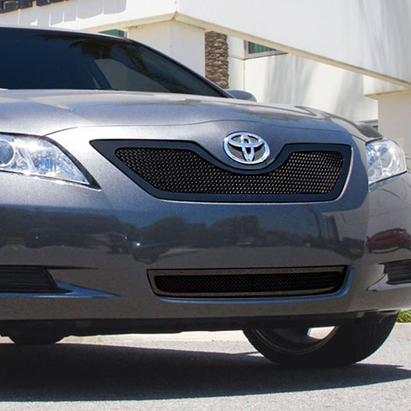 t rex toyota camry 2007 2009 1 pc upper class series black mesh grille. Black Bedroom Furniture Sets. Home Design Ideas