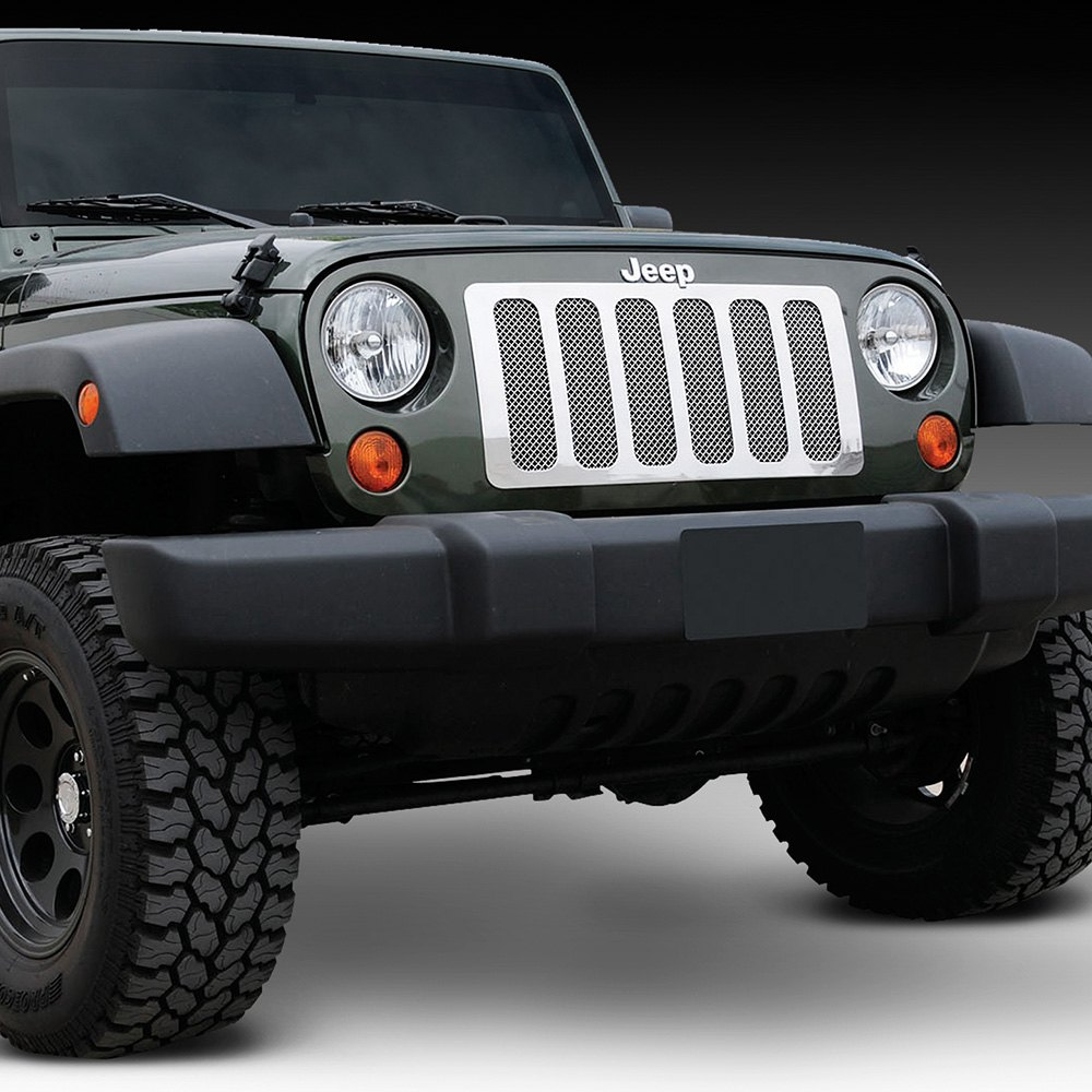Jeep Wrangler 2007-2017 6-Pc Look Upper Class