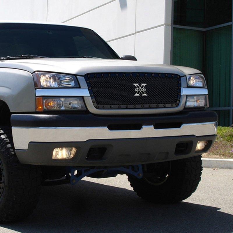 Chevy Silverado 2004 1-Pc Stealth Metal Series