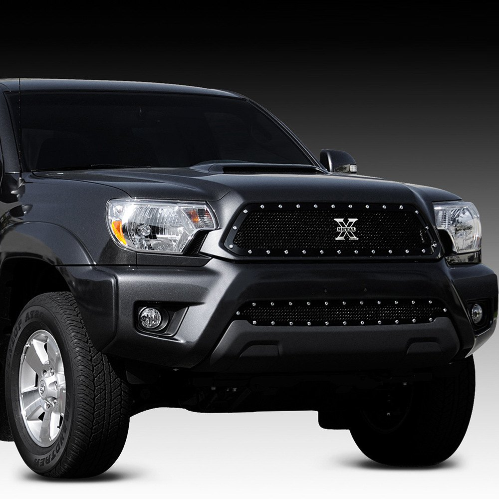t rex toyota tacoma 2012 2015 1 pc x metal series black. Black Bedroom Furniture Sets. Home Design Ideas