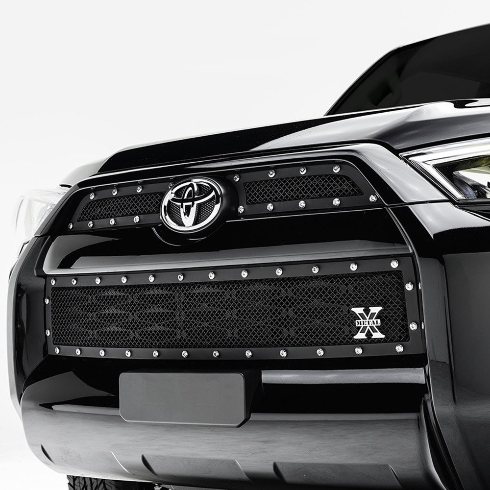 T rex toyota 4runner 2015 2016 3 pc x metal series black mesh grille - Grilles indiciaires fpt 2015 ...