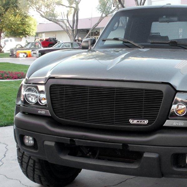 2006 ford ranger custom grilles billet mesh led. Black Bedroom Furniture Sets. Home Design Ideas