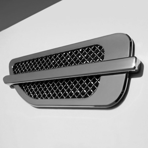 T Rex 174 49001 Upper Class Series Escalade Style Chrome Side Vent Grilles