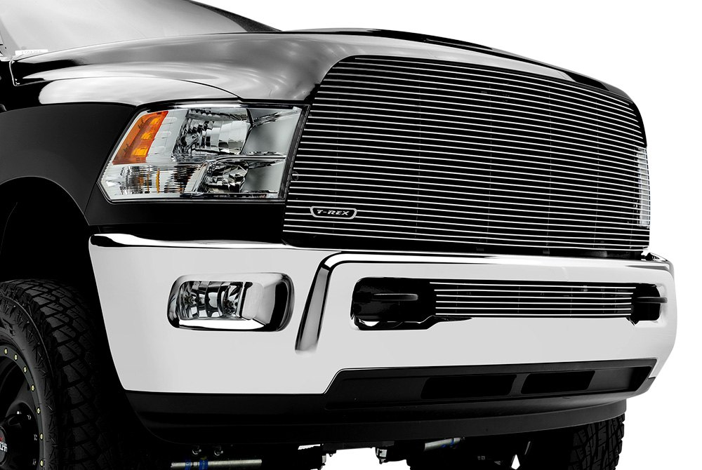 Billet Grille on Dodge Ram