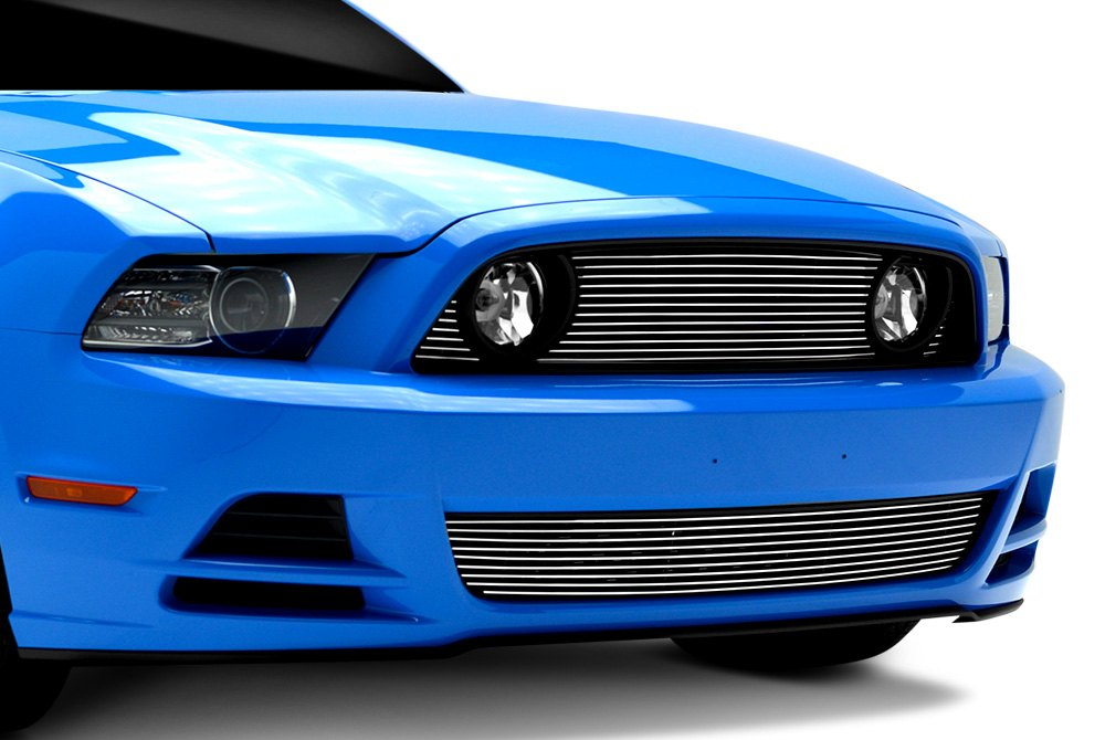 Billet Grille on Ford Mustang