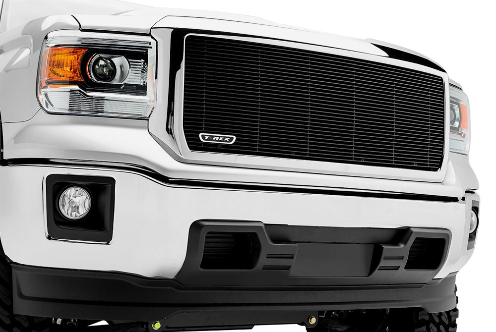 Billet Grille on GMC Sierra