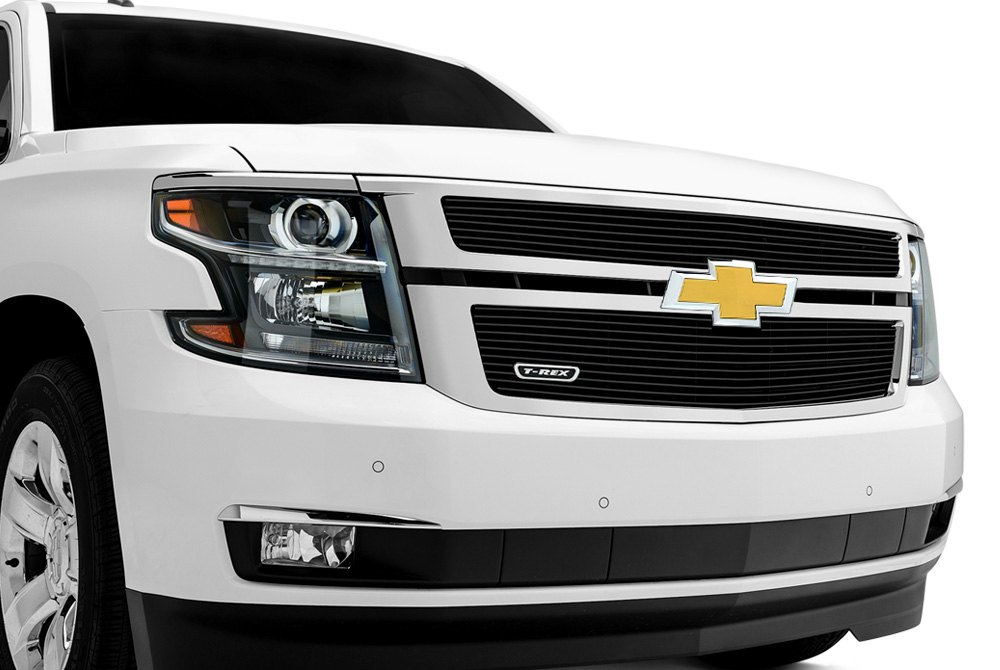 Billet Grille on Chevy Tahoe