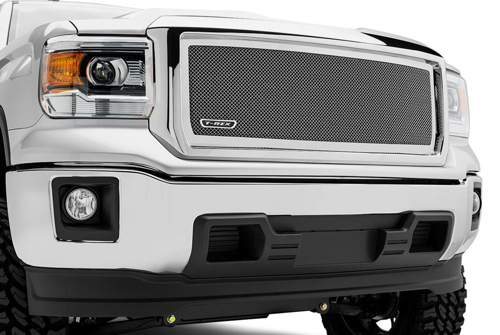 Upper Class Mesh Grille on GMC Sierra